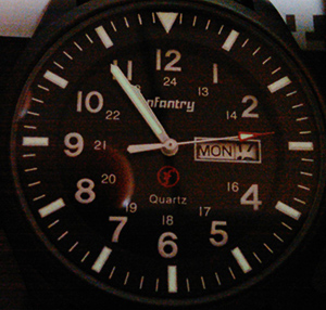 Infantry Military Wrist Watch